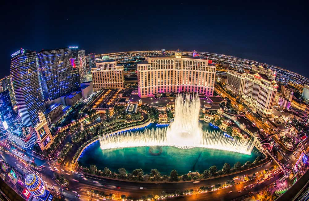 SEMCO X-Bond Seamless Stone inside Bellagio Fountain in Las Vegas