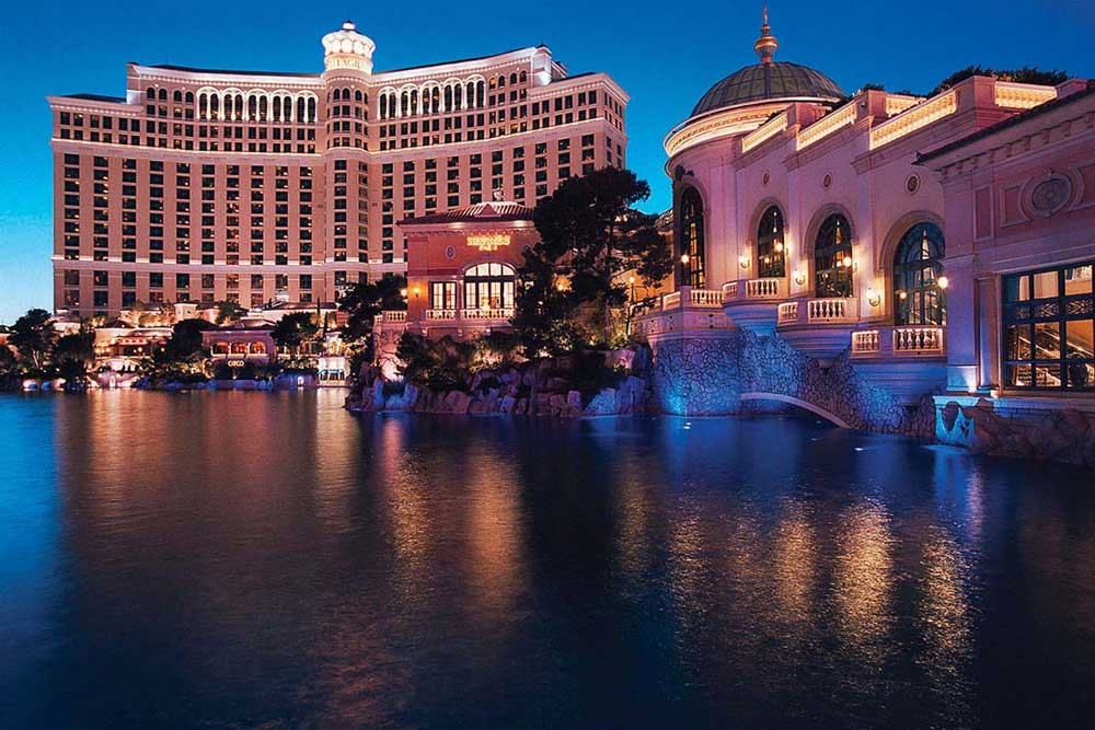 SEMCO X-Bond inside the Bellagio Fountain in Las Vegas