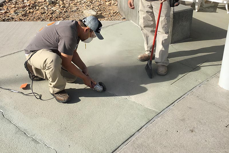 YMCA at Centennial Hills Community Center - crack repair