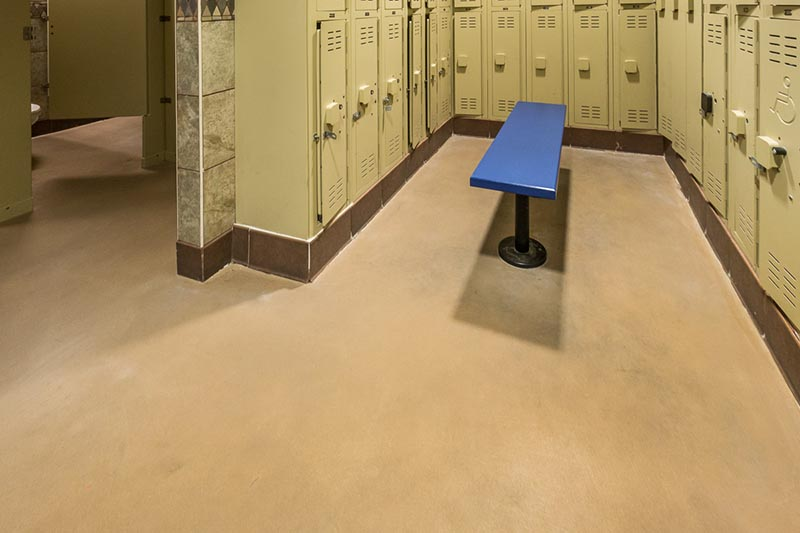 YMCA at Centennial Hills Community Center - locker room