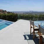 Fashion designer's residence renovation - SEMCO Seamless Stone pool deck