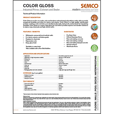 Color Gloss