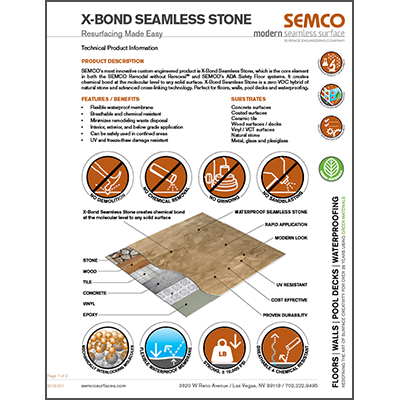 X-Bond Seamless Stone