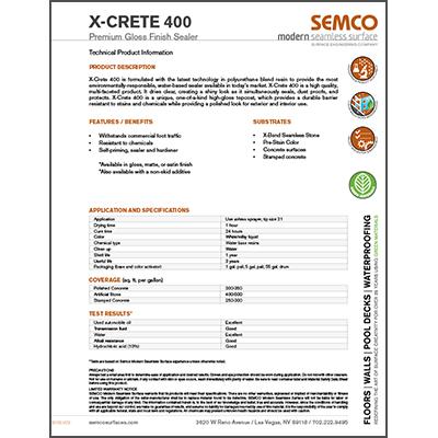 X-Crete 400
