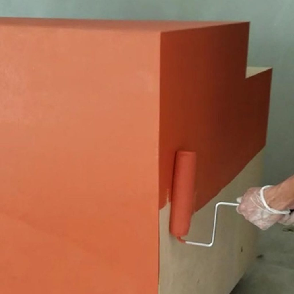Liquid membrane over plywood