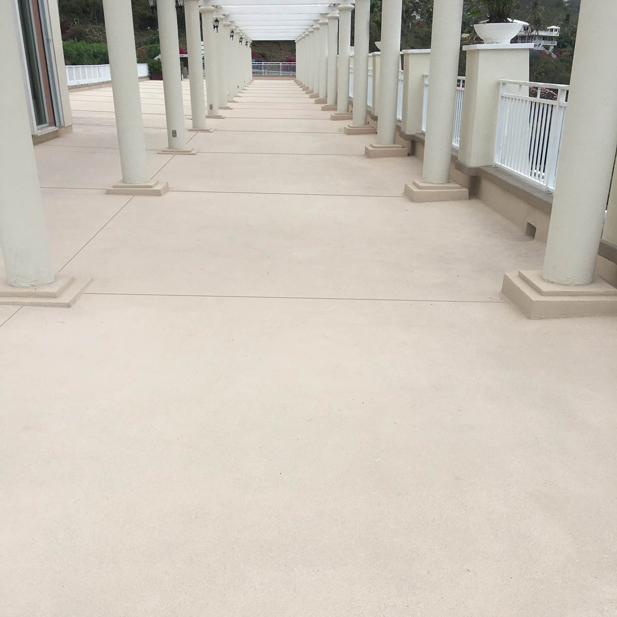 Marriots Frenchmans Cove - new X-Bond Seamless Stone surface