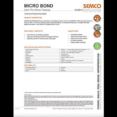 SEMCO Micro Bond