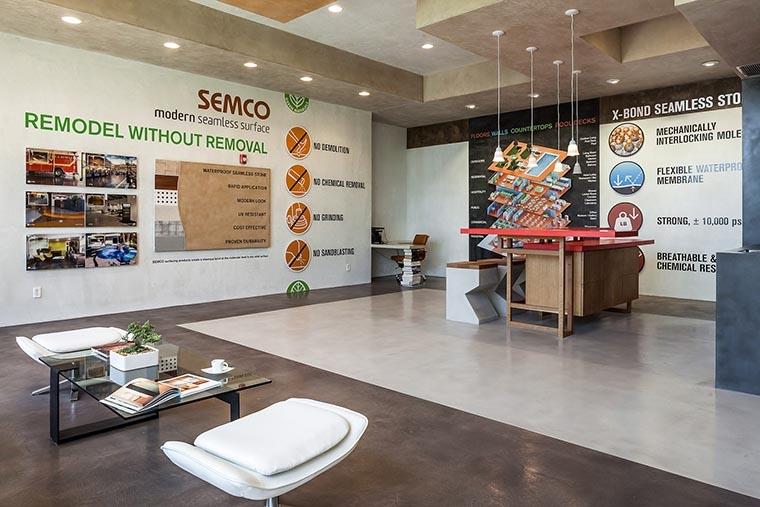Contactos – Semco Modern Seamless Surface
